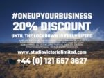 20% Discount until the lockdown is lifted by the Government